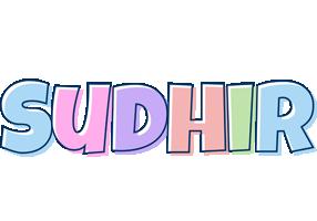 Sudhir pastel logo