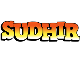 Sudhir sunset logo