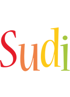 Sudi birthday logo