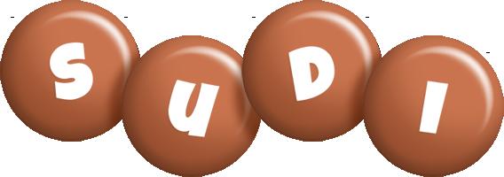 Sudi candy-brown logo