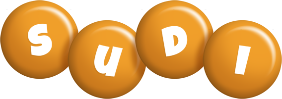 Sudi candy-orange logo