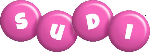 Sudi candy-pink logo