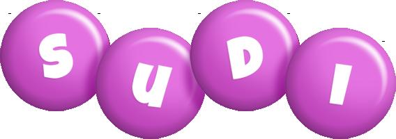 Sudi candy-purple logo