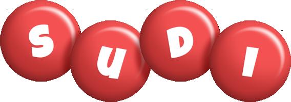 Sudi candy-red logo