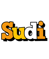 Sudi cartoon logo