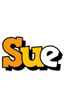 Sue cartoon logo