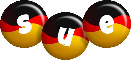Sue german logo