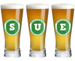 Sue lager logo