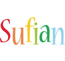 Sufian birthday logo