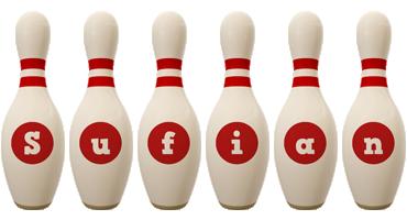 Sufian bowling-pin logo