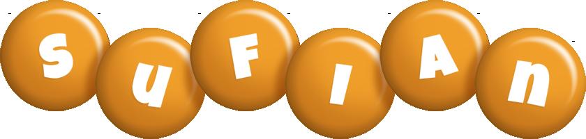Sufian candy-orange logo