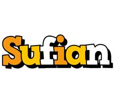 Sufian cartoon logo