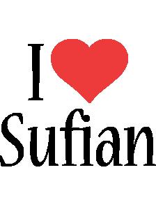 Sufian i-love logo