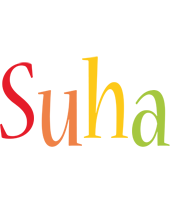 Suha birthday logo