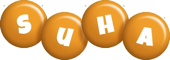 Suha candy-orange logo