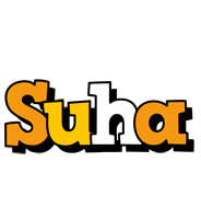 Suha cartoon logo