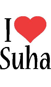 Suha i-love logo