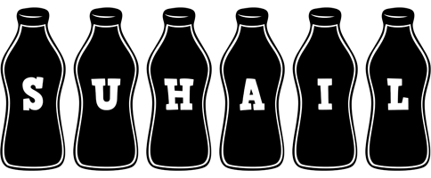 Suhail bottle logo