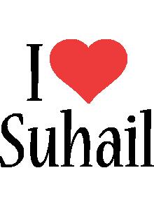 Suhail i-love logo
