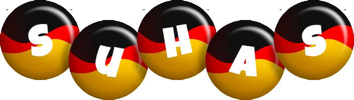 Suhas german logo