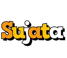 Sujata cartoon logo