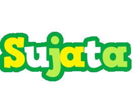 Sujata soccer logo