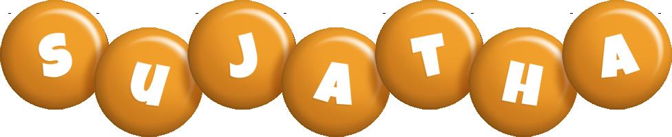 Sujatha candy-orange logo