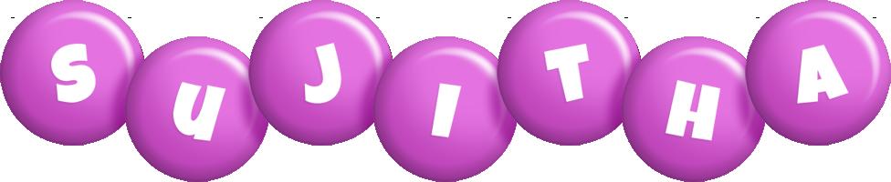Sujitha candy-purple logo