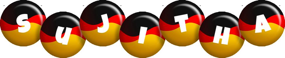 Sujitha german logo