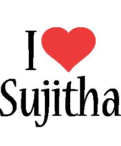 Sujitha i-love logo