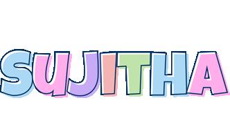 Sujitha pastel logo