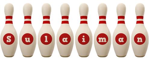 Sulaiman bowling-pin logo