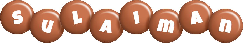 Sulaiman candy-brown logo