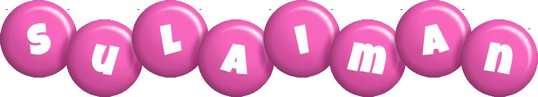 Sulaiman candy-pink logo
