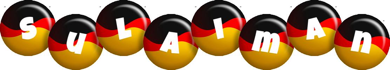 Sulaiman german logo