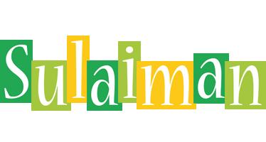 Sulaiman lemonade logo