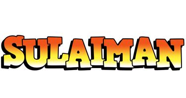 Sulaiman sunset logo