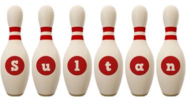Sultan bowling-pin logo