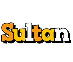 Sultan cartoon logo