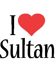 Sultan i-love logo