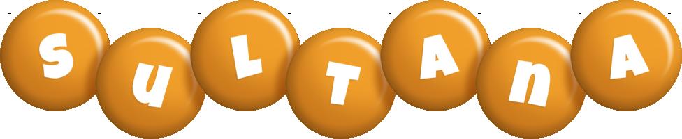 Sultana candy-orange logo