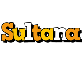 Sultana cartoon logo