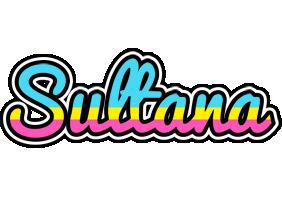 Sultana circus logo