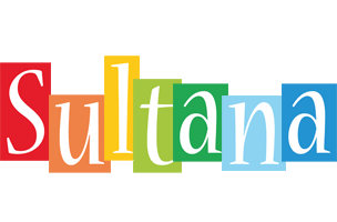 Sultana colors logo