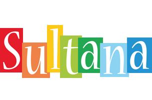 Sultana colors logo