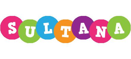Sultana friends logo