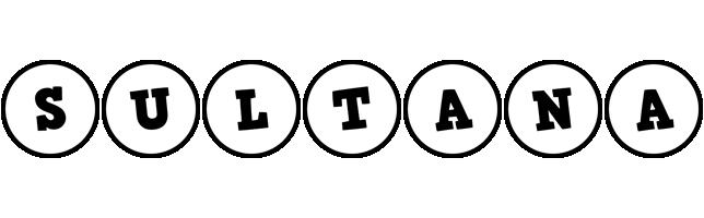 Sultana handy logo