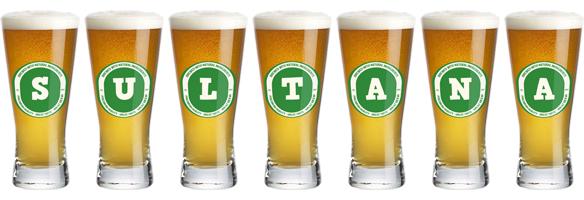 Sultana lager logo