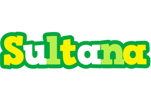 Sultana soccer logo