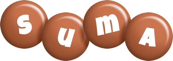 Suma candy-brown logo